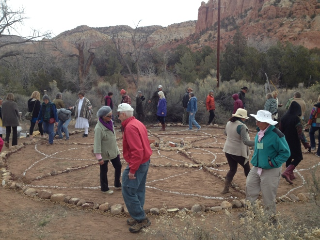Medicine Water Wheel Ceremony at Ghost Ranch